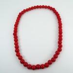 Collar Bebe 18cm Rojo